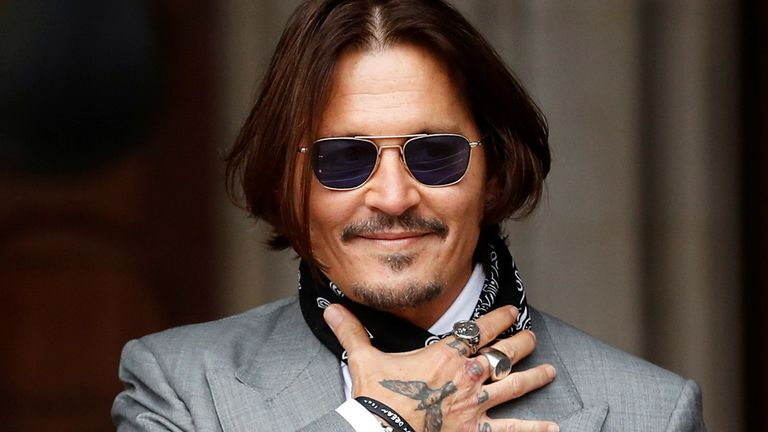 Did Johnny Depp have a plastic surgery